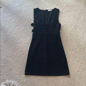 Black Tobi fitted strap dress. Size: XS